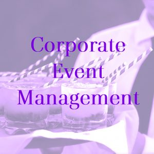 corporate event management button