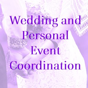 wedding and personal events button